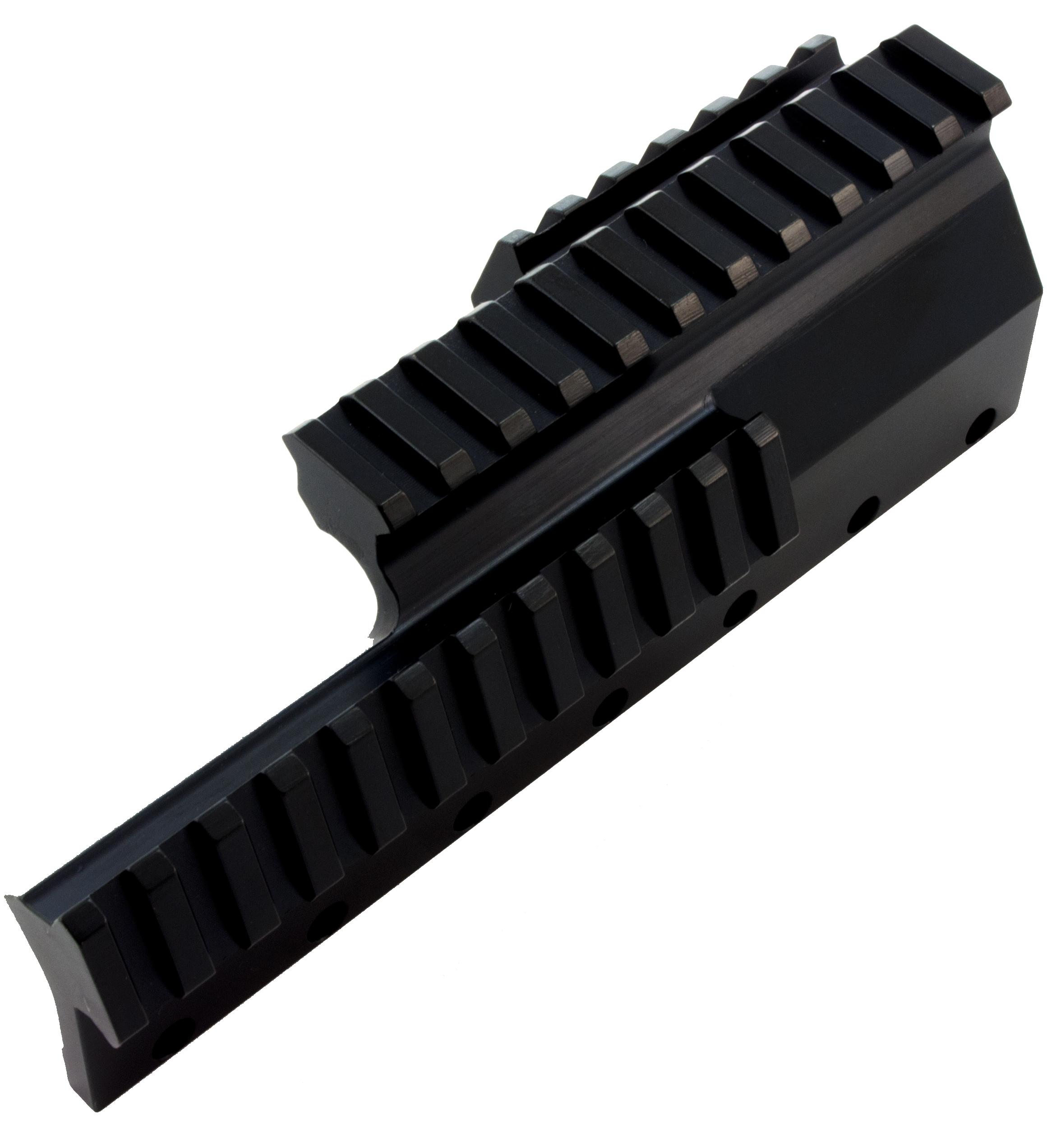 Sks picatinny rail drill amp tap scope mount addley precision